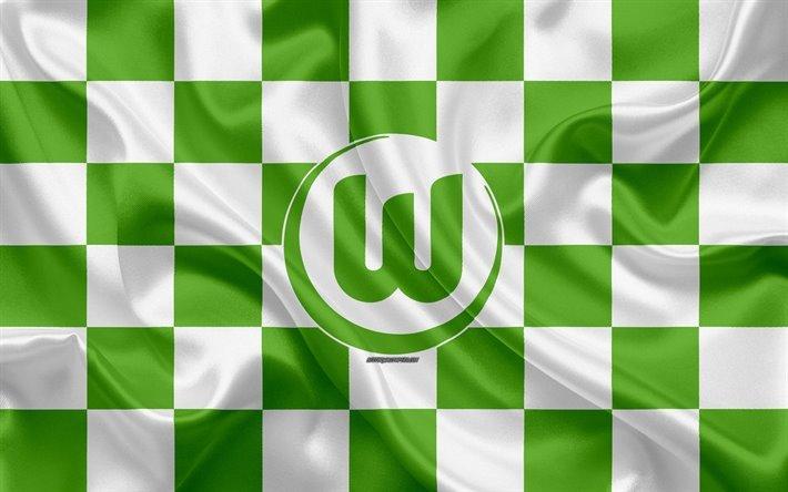 thumb2-vfl-wolfsburg-4k-logo-creative-art-green-white-checkered-flag